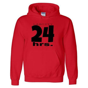 24 Hours Hooded Sweatshirt by LABCITY