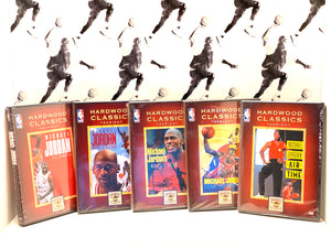 Michael Jordan DVD Collector Set by Hardwood Classic (5 DVD Set)