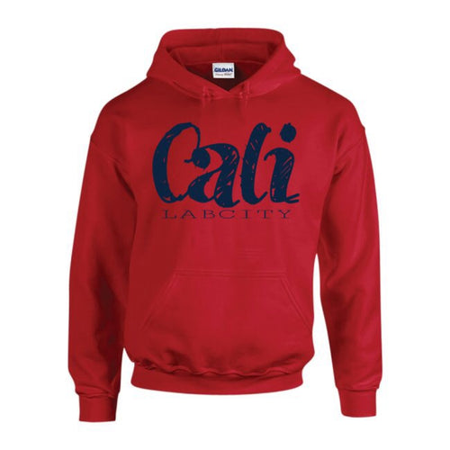 CALI HOODIE (ALL RED COLLECTION) by LABCITY