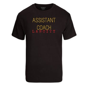 ASSISTANT COACH TEE by LABCITY