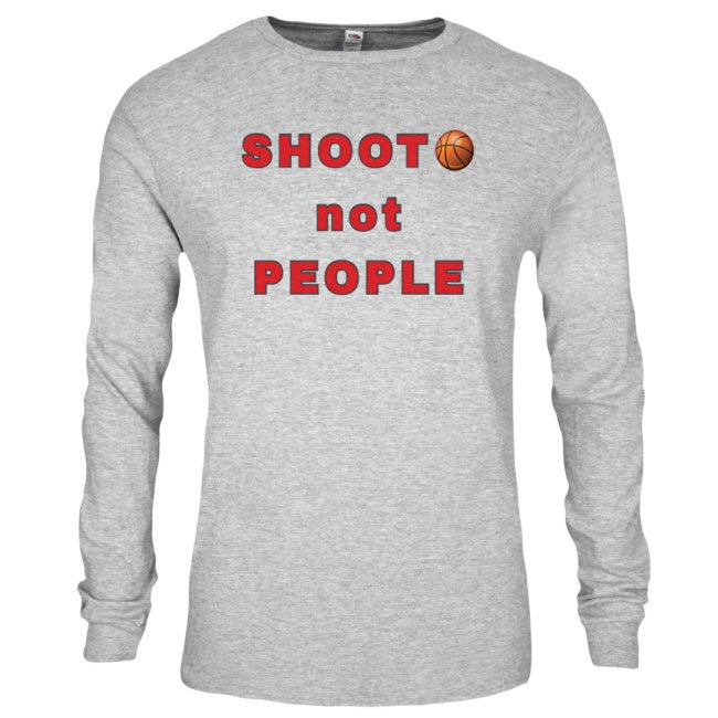 SHOOT THE BALL NOT PEOPLE (The Movement) TEE by LABCITY