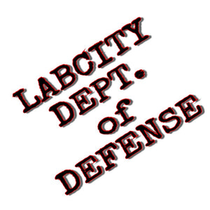 LADIES 'LABCITY DEPT. of DEFENSE' TEE