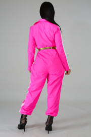 Fuschia Jumpsuit - Fashion Kills