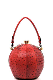 Ball Shaped Cross Body Bag
