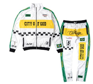 Club Foreign - City of God Brazil Tracksuit