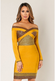 Criss Cross Bandage Dress