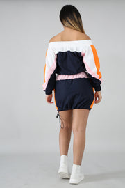 Sporty Skirt Set