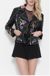 Beaded Flower Jacket