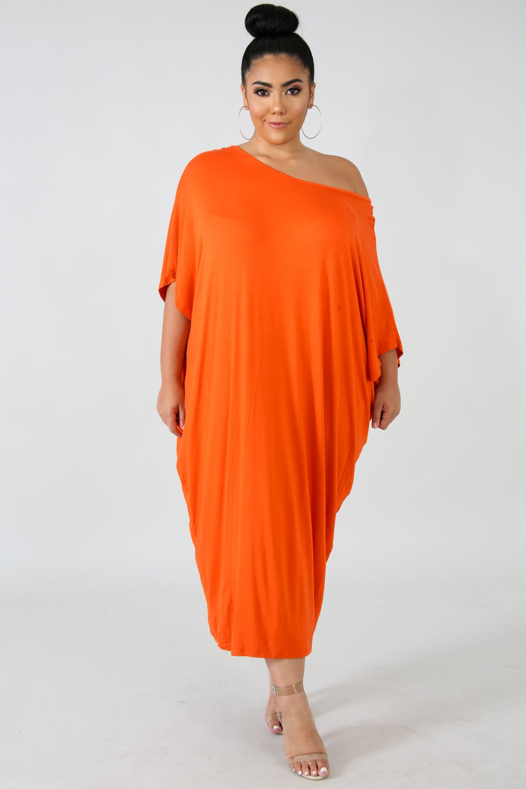Lounging Dress - Orange