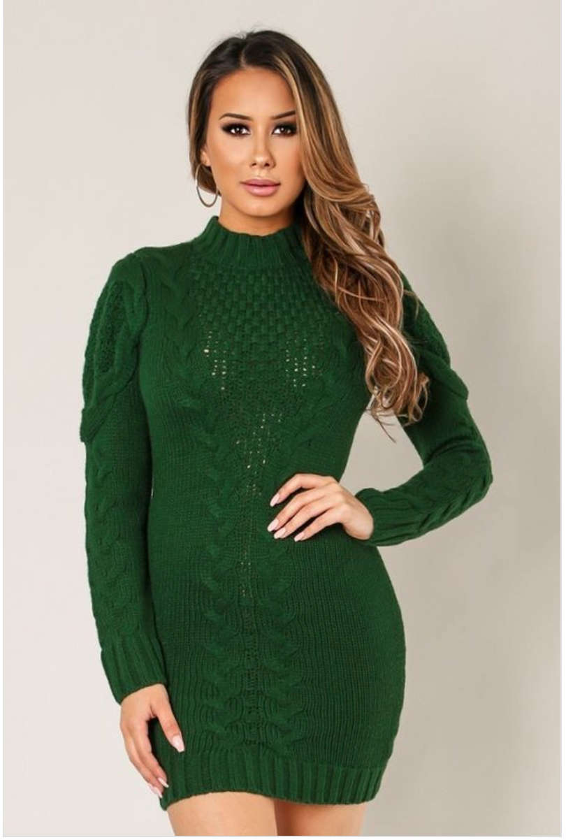 Pine Sweater Knit Long Sleeve