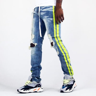 Thrt Striped Denim