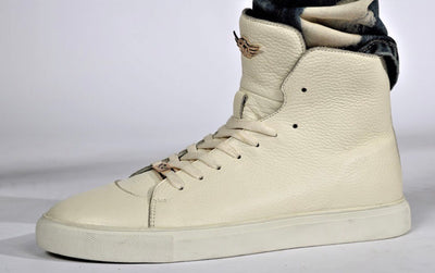 Ferrari Masarri white high top