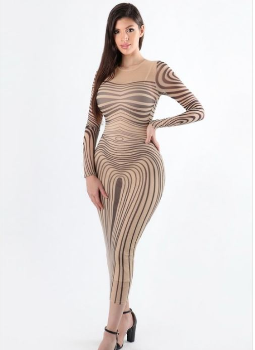 Mesh Bodycon