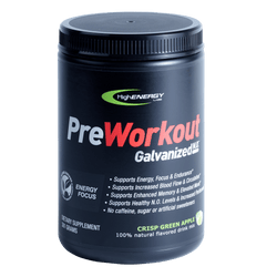 Galvanized N.O.  Stim Free Pre-workout (Crisp Green Apple)