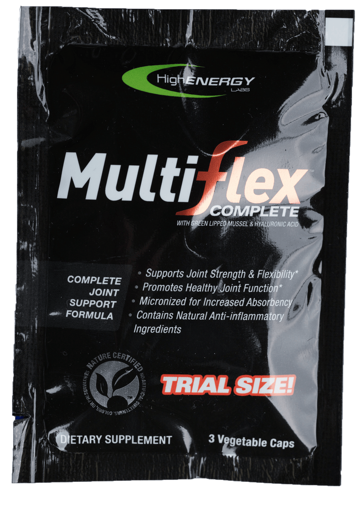 MuliFlex Joint Health - Portable Trial Size - High Energy Labs - Nutritional Supplements