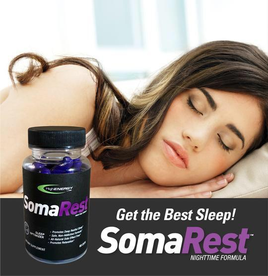 SomaRest - Sleep Optimizer - High Energy Labs - Nutritional Supplements
