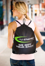 String Back Pack - High Energy Labs - Nutritional Supplements