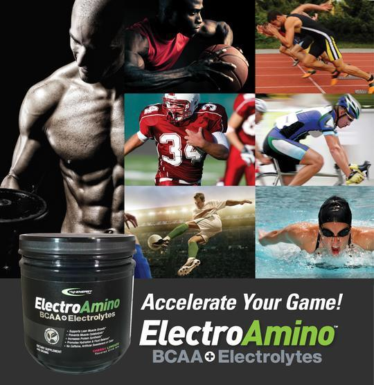 BCAAs (3-1-2 ) + Electrolytes – ElectroAmino Powder - High Energy Labs - Nutritional Supplements
