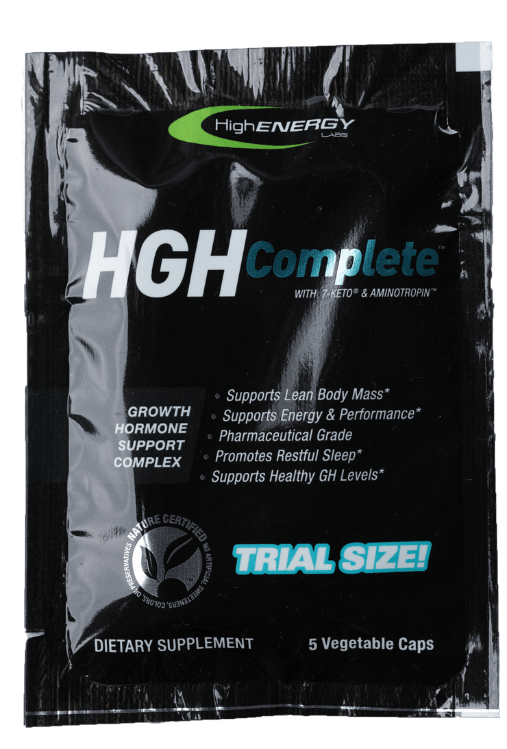 GH Complete Anti-aging & Recovery - Portable Trial Size - High Energy Labs - Nutritional Supplements