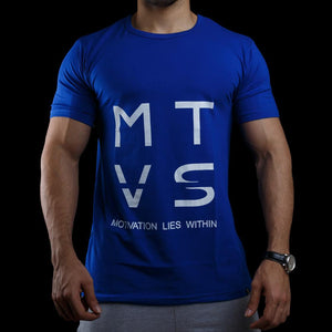 MTVS SERIES Tee - Ballistic Blue + SIGNATURE SERIES Tee - Tangerine Orange + SIGNATURE SERIES Tee - Ash Grey