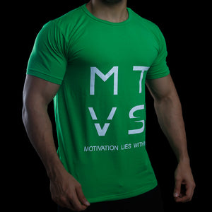 MTVS SERIES Tee - Shamrock Green