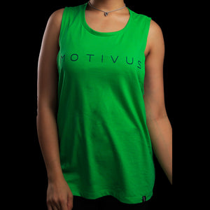 MONOCHROME SERIES Sleeveless - Shamrock Green