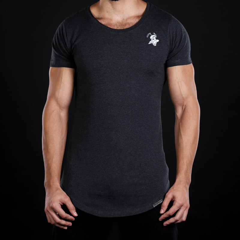 LEGION SERIES Emblem Tee- Black Melange