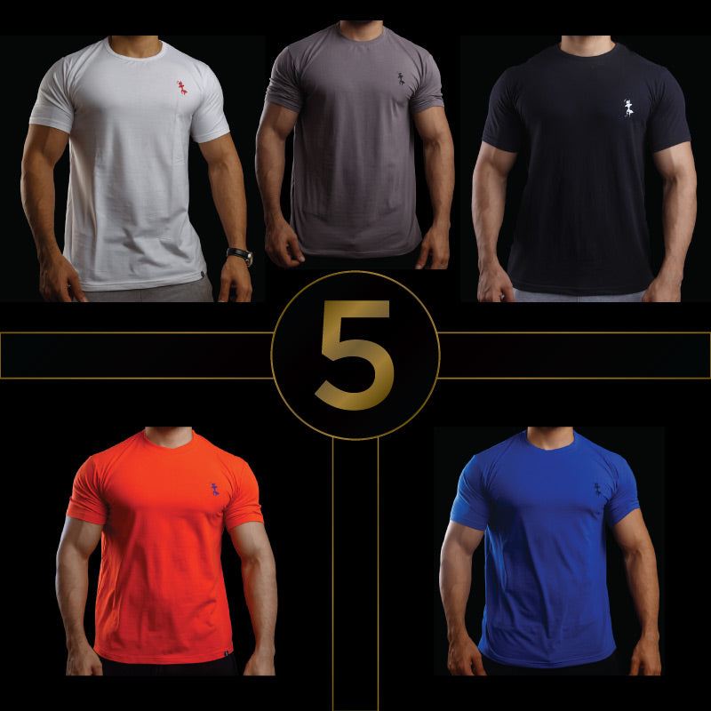 SIGNATURE PACK- Mens TEES (Pack of 5)