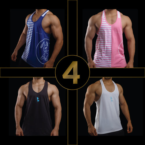 SHREDDED PACK- Mens Stringers (Pack of 4)