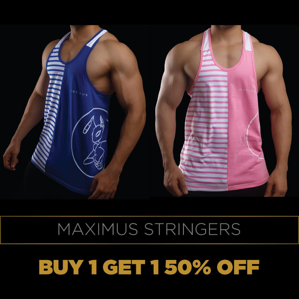 MAXIMUS STRINGERS (Buy 1 Get 1 50% OFF)