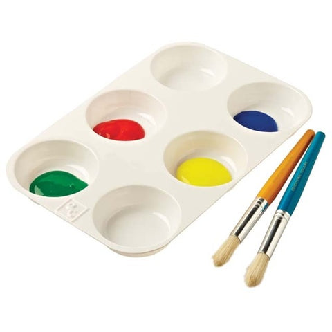 EC - 6 Well Muffin Paint Palette