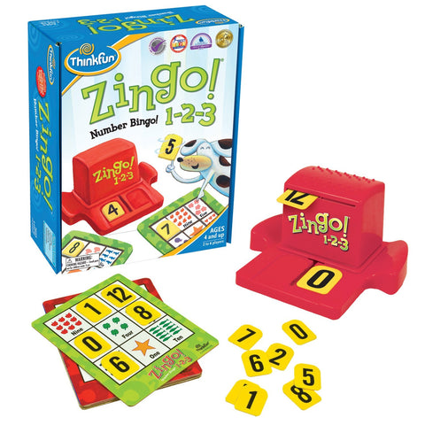 ThinkFun - Zingo! 1-2-3 Game