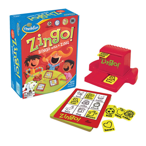 ThinkFun - Word Bingo with a Zing