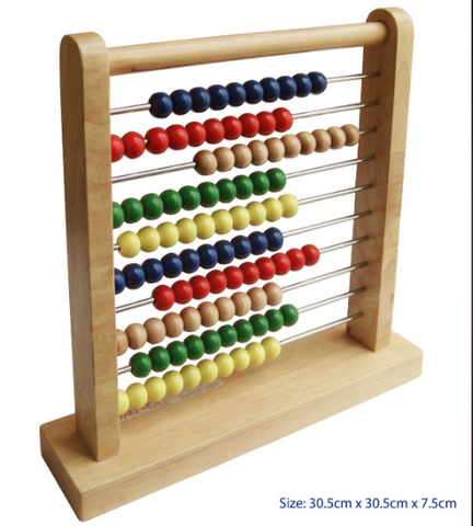 Abacus with Metal Bars