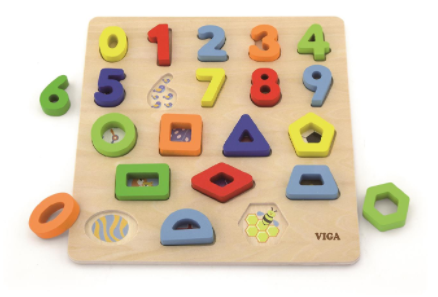 Viga - Block Puzzle Numbers / Shapes