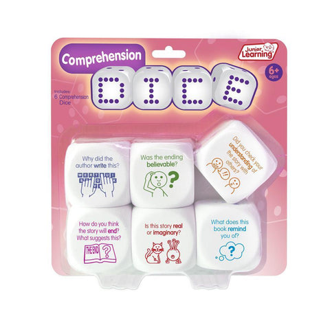 Junior Learning - Comprehension Dice