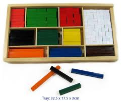 Wooden Cuisenaire Rods