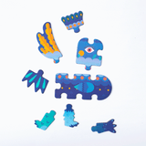 mierEdu - Puzzle + Draw Magnetic Kits Crazy Monsters