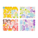 mierEdu - Puzzle + Draw Magnetic Kits Fairy Tales