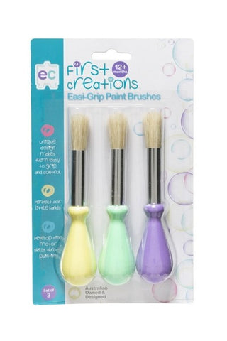 EC First Creations - Easi Grip Paint Brushes