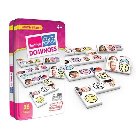 Junior Learning - Emotions Dominoes