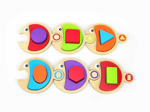 Kaper Kidz - Fish with Shape Blocks