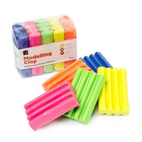Educational Colours - Fun Clay Fluoro 5 Colours