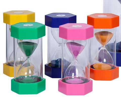 Timer Coloured Sand (1, 2, 3, 5, 10 or 15 minutes)