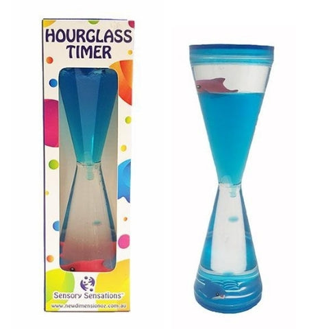 Sensory Sensations - Hourglass Timer With Dolphin