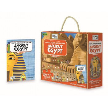 Sassi - Travel, Learn & Explore Ancient Egypt 200 Piece Puzzle