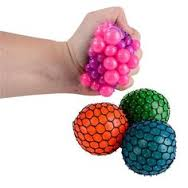 Squishy Mesh Rainbow Ball