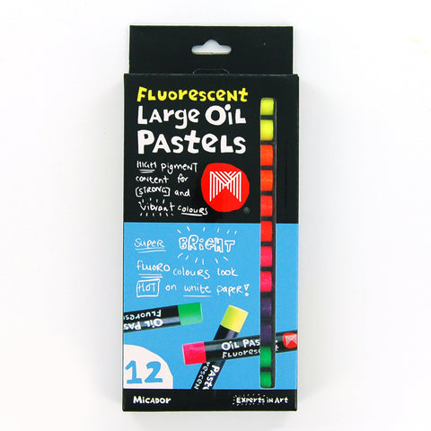 Micador - Large Oil Pastels Fluorescent