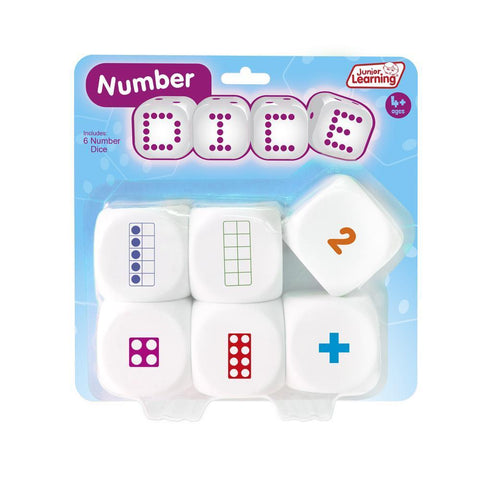 Junior Learning - Number Dice