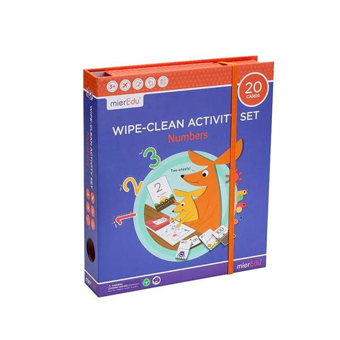 mierEdu - Wipe Clean Activity Set Numbers